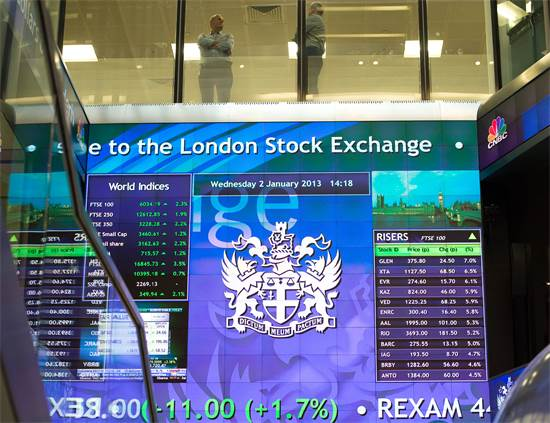 חברות ישראליות בולטות בבורסות לונדון: פלוס 500, בגיר, אטרניטי נטוורקס ופלייטק / צילום: פול האקט, רויטרס