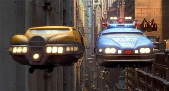 """המכוניות המעופפות ב""""האלמנט החמישי"""" / צילום: יח""""צ"""