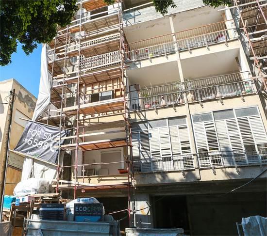 """18 מיליון ש' לדופלקס בפרויקט תמ""""א 38, ליד כיכר דיזינגוףצילום: שלומי יוסף"""