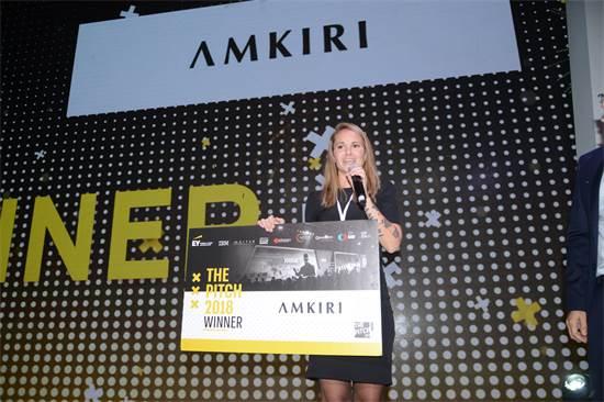 חברת אמקירי זוכה בתחרות ThePITCH / צילום: איל יצהר