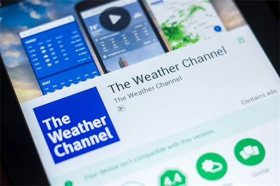 The Weather Channel / צילום: Shutterstock