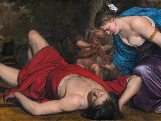 במזרח הקדום סימל הפרג את מותו של האל אדוניס / צילום: קורנליס הולשטיין, מתוך וויקיפדיה