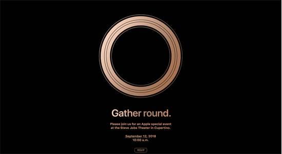 ההזמנה לאירוע ההשקה של אפל היום (12 בספטמבר) / באדיבות אפל