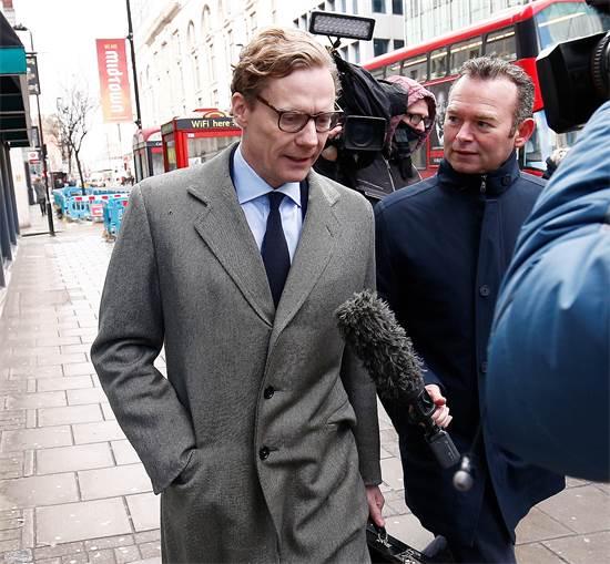 "אלכסנדר ניקס, מנכ""ל קיימברידג' אנליטיקה / צילום: הנרי ניקולס, רויטרס"