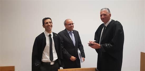 """מנכ""""ל אפריקה ישראל אברהם נובוגרוצקי בדיון היום / צילום: מנחם שטאובר"""