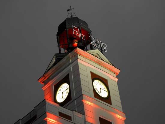 השעון שמכריז על כניסת השנה החדשה / צילום: גלית חתן