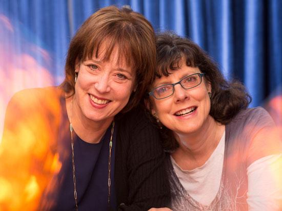 ג'ולי כהן ובטסי ווסט  / צילום באדיבות YES