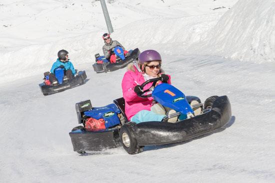 קארטינג קרח/ צילום: צילומים: Val Thorens, Shutterstock | א.ס.א.פ קריאייטיב