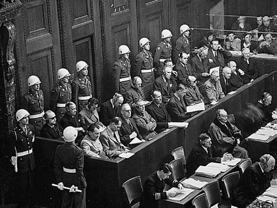 מתוך משפטי נירנברג / צילום: רויטרס - Rtringer