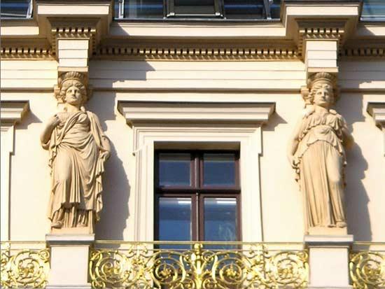 ארמון אפרוסי בווינה חזית הבניין / צילום: מתוך ויקיפדיה