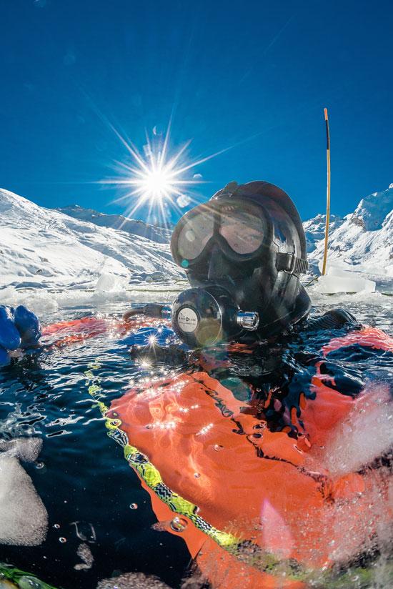 Ice Diving / צילום: צילומים:  Shutterstock | א.ס.א.פ קריאייטיב