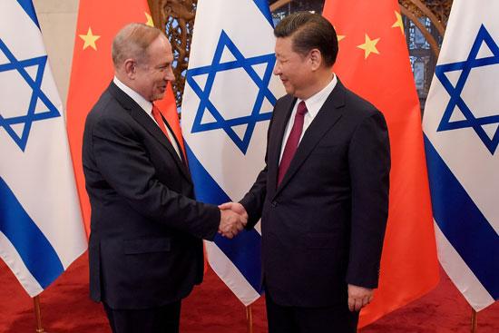 נשיא סין שי ג'ינפינג וראש הממשלה בנימין נתניהו / צילום: רויטרס OliveauPoo