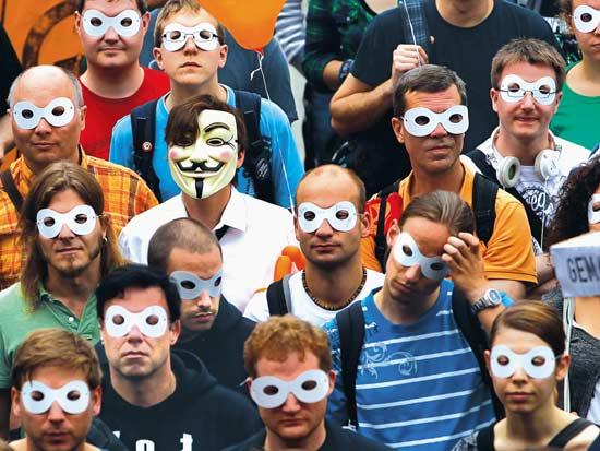 הפגנות למען הגנת הפרטיות בארצות הברית / צילום: רויטרס - Thomas Peter