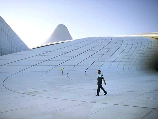 מרכז התרבות על־שם היידר אלייב / צילום: רויטרס - AI Project