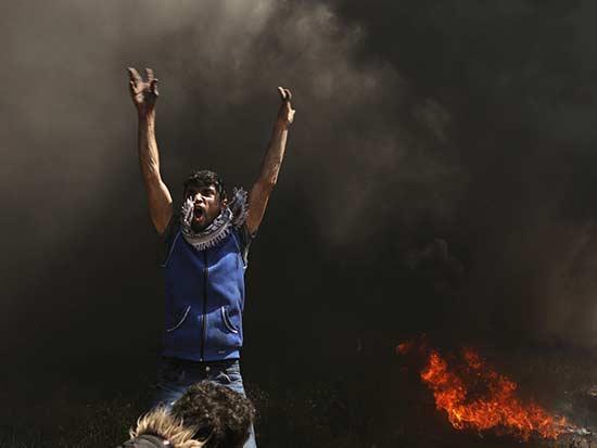 הפגנות, יריות, פצועים והרוגים / צילום: רויטרס - Mohammed Salem