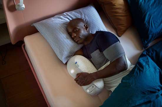 רובוט-כרית נגד נדודי שינה  / צילום יחצ