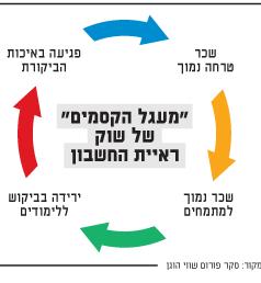 מעגל הקסמים של שוק ראיית החשבון