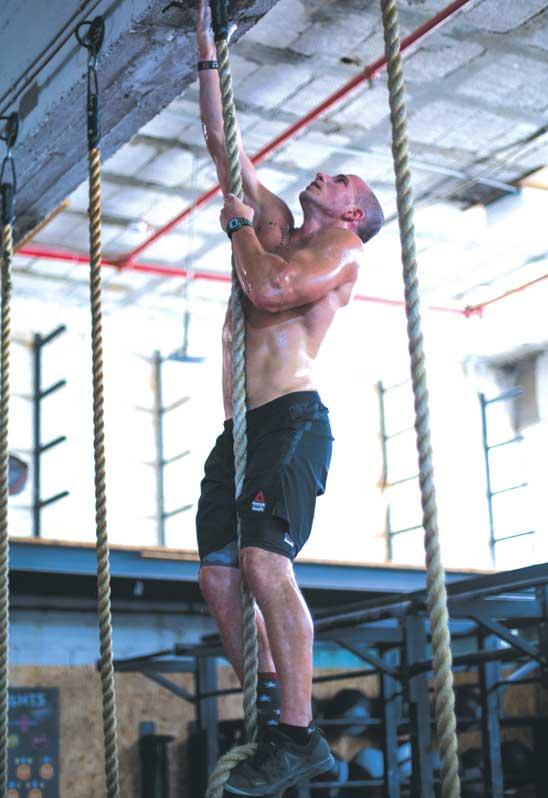 אימון במועדון קרוספיט פתח תקוה/צילום: דורון פרילוק