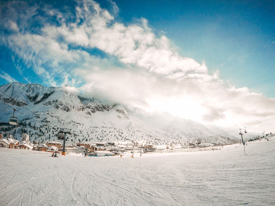 פאסו טונלה, איטליה / צילום: עדן רם עבור  SKI DEAL