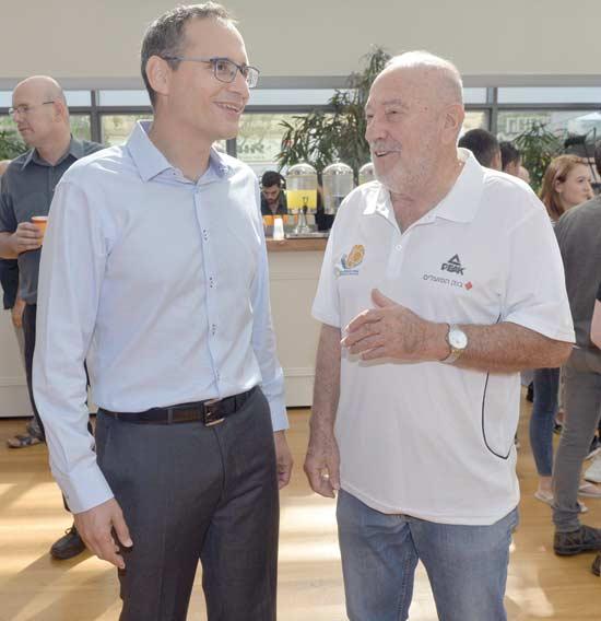עמירם הלוי ואיתי בן זאב / צילום: גיא אסייג