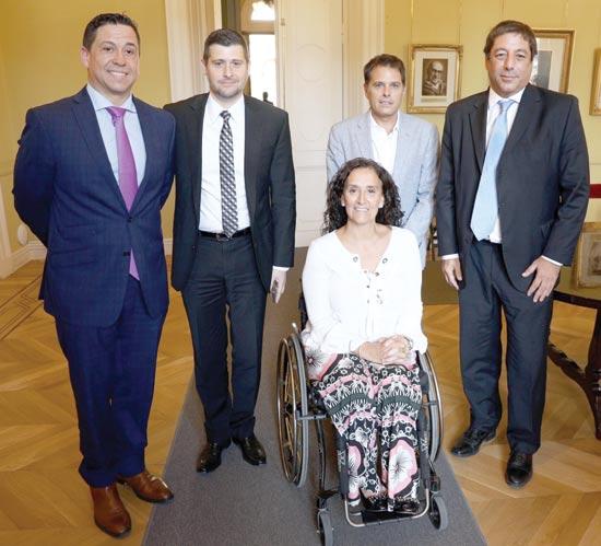 אלחנדרו סטטטוריס, חואן מנואל אורטיז, גבריאלה מיקטי, ערן רוט ורודי סנצ'ז / צילום: iintoo