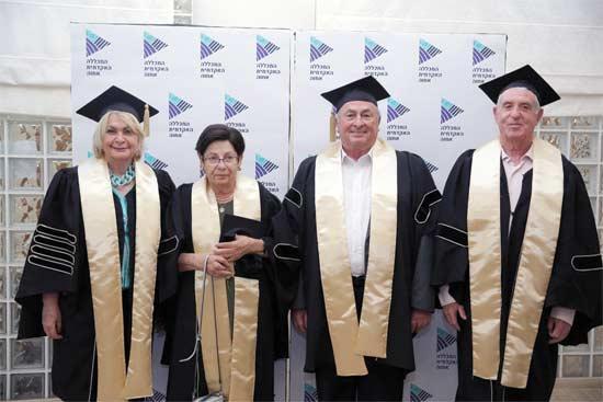 גדעון עופר, אלי אלאלוף, מרים נאור ושוש ארד / צילום: אדי ישראל