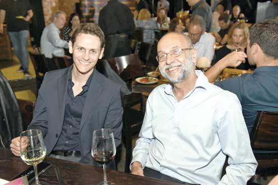 ישראל בר יוסף וערן אדן / צילום: אוהד הרכס ואיתי בלסון, מכון ויצמן
