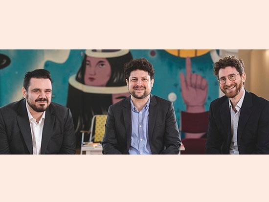 "Berlin Innovation Ventures. מיק הלזבנד, אלעד ורבין, אור שם-טוב / צילום: יח""צ"