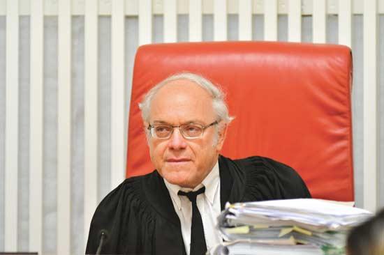 השופט ניל הנדל/ צילום:אוריה תדמור