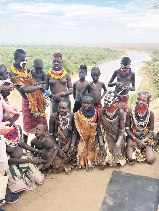 בני שבט הקארה / צילום: מוטי שרף
