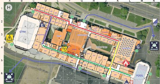 מערכת מיפוי המבנים של Critical Response Group/ צילום:אתר החברה