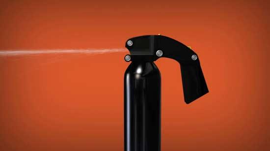 המטף החכם של Threat Extinguisher / צילום: אתר החברה