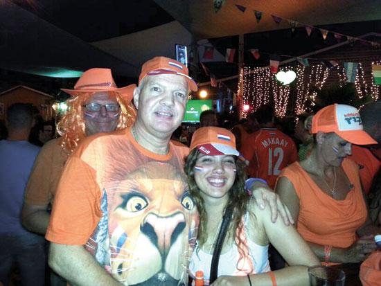 ריינדרס ואביה המנוח אדרי, / צילום: תמונה פרטית