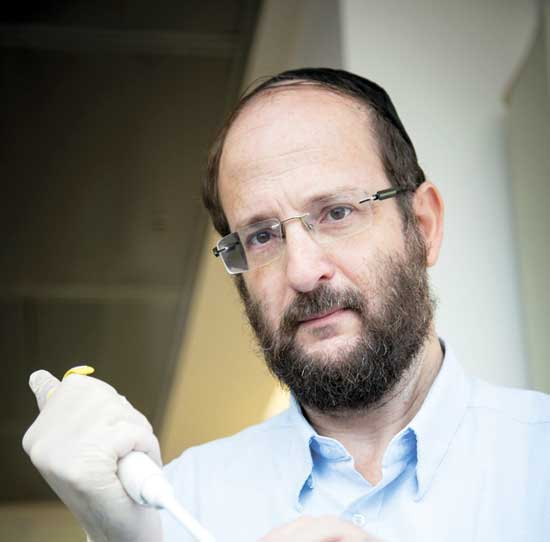 פרופסור אלי אייזנברג /  צילום:אלון רון