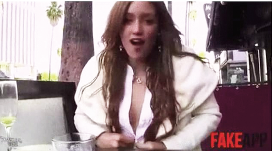 סרטון מזוייף של ג'סיקה אלבה/ איור גיל ג'יבלי