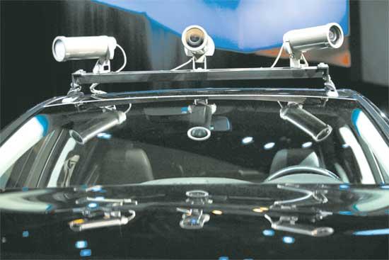 מכונית אוטונומית / צילום : רויטרס