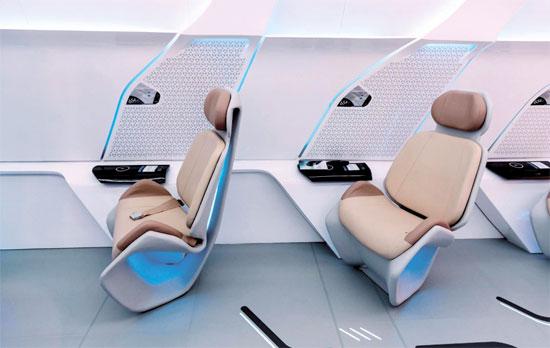 הדמיית תא הנוסעים/ צילום: יחצ