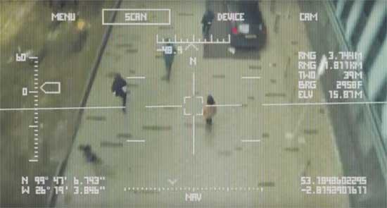 הדמיה מתוך סרטון הקורא לעצירת פיתוח הנשק האוטונומי / צילום מסך