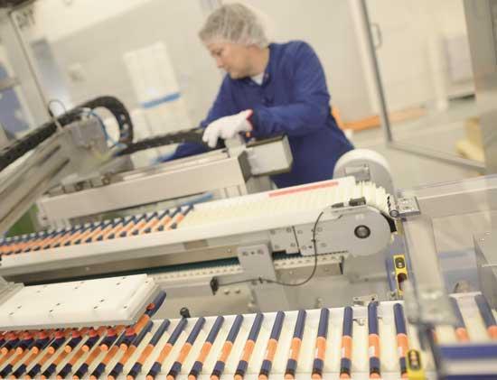 מפעל של נובו נורדיסק לייצור אינסולין /צילום: רויטרס