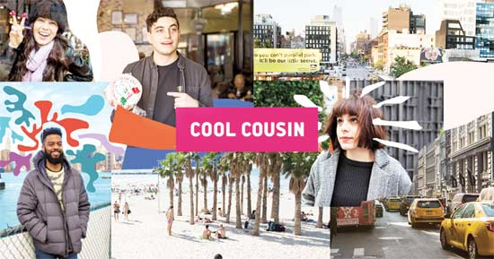 אפליקציית cool cousin