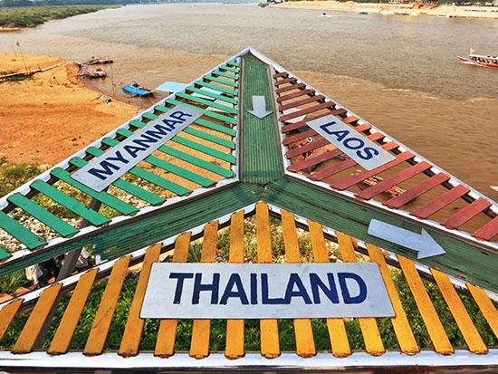 """""""משולש הזהב"""", מפגש הגבולות שבין לאוס, בורמה ותאילנד / צילום: שאטרסטוק"""