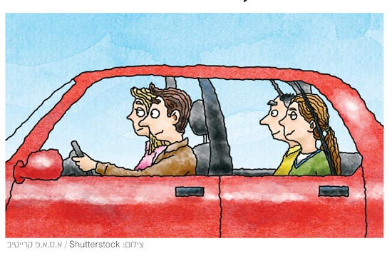 נהיגה בשעות העומס / צילום א.ס.א.פ קרייטיב / Shutterstock : צילום