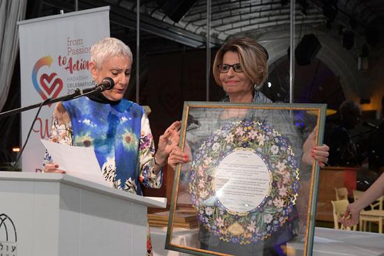 דליה איציק ומרסי נתן / צילום: ברונו שביט