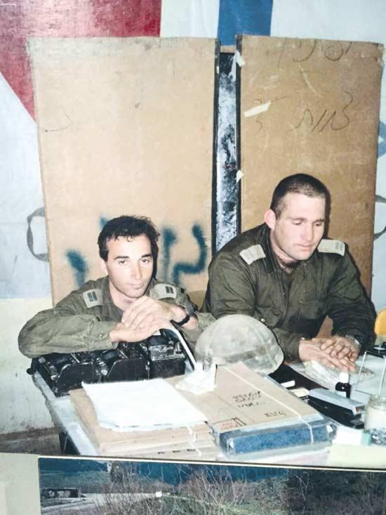 ישראל דנציגר ויואב הר שושנים / צילום: באדיבות הכותב