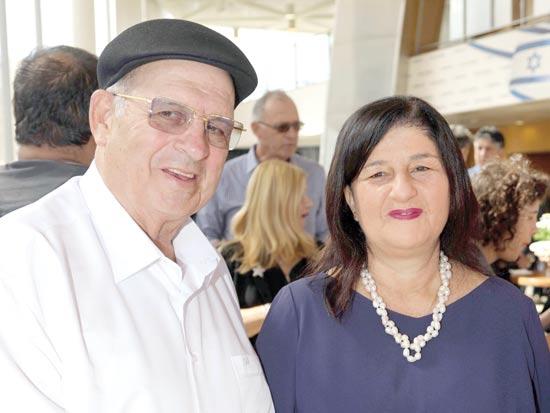 סמדר ברבר־צדיק ואברהם קוזניצקי / צילום: סיון פרג'