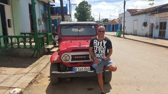 אלעד שמש בקובה / צילום: אלבום פרטי