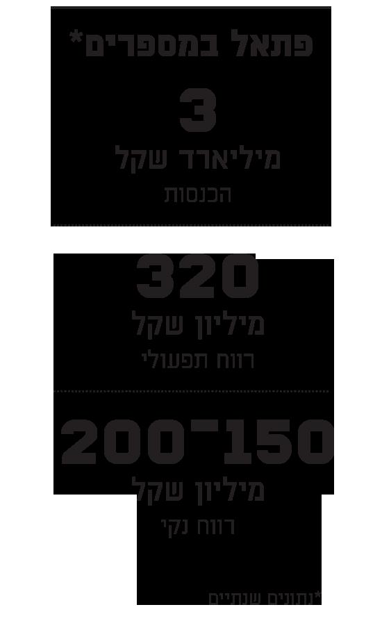 פתאל במספרים