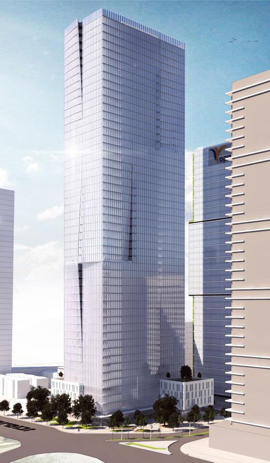 הדמיית המגדלים ומכון מור / הדמיה: יסקי מור סיוון