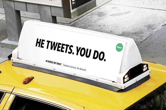 קמפיין Fiverr / צילום: באדיבות החברה