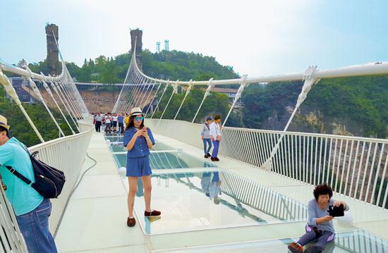 """גשר הזכוכית / צילום: יח""""צ"""